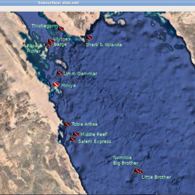 red sea sites